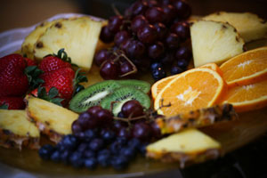 Great Breakfast Fruit Plate
