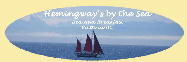 Hemingways by the Sea Bed and Breakfast Victoria BC